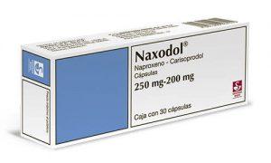 dosis del naproxeno con carisoprodol